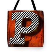 P Tote Bag by Mauro Celotti