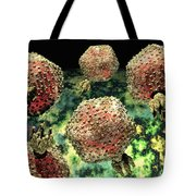P22 Bacteriophages Tote Bag