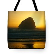 Pacific City Sunset Tote Bag