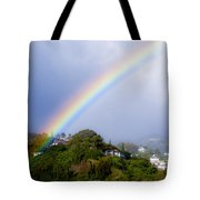 Pacific Hieghts Rainbow Tote Bag