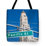 Pacific Street I Tote Bag
