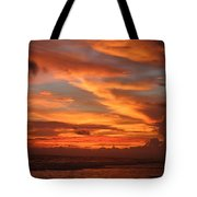 Pacific Sunset Costa Rica Tote Bag