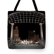 Pack Square Park Asheville Tote Bag