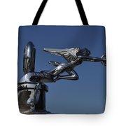 Packard Angel Hood Ornament Tote Bag