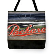 Packard Name Plate Tote Bag