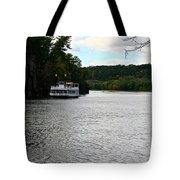 Paddle Boat Tote Bag