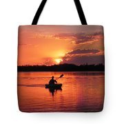 Paddle To Home Tote Bag