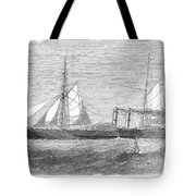 Paddle Wheel Packet Ship Tote Bag