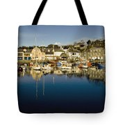 Padstow Marina Reflecting In Water Tote Bag