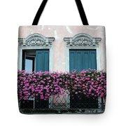 Padua Balcony And Window Boxes Tote Bag