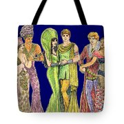 Pageant Couples Tote Bag