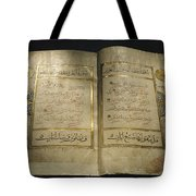 Pages Of A 13th Century Koran Tote Bag