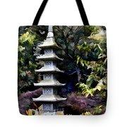 Pagoda Tower Of Zen Tote Bag