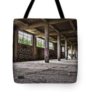 Paint And Concrete Tote Bag