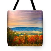 Paint Valley From Valley View Golf Tote Bag