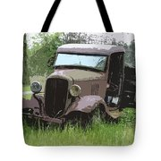 Painted 30's Chevy Truck Tote Bag by Steve McKinzie