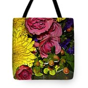 Painted Bouquet Tote Bag