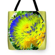 Painted Chrysanthemums Tote Bag