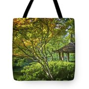 Painted Gardens Tote Bag