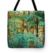 Painted Gold With Sunlight Tote Bag