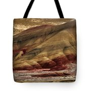 Painted Hills Grooves Tote Bag