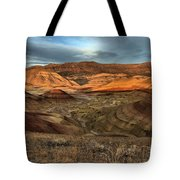 Painted Hills In The Fossil Beds Tote Bag