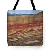 Painted Hills Panoramic Tote Bag