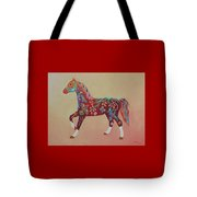 Painted Horse A Tote Bag