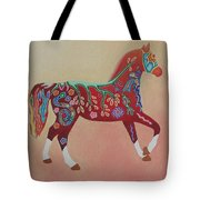 Painted Horse B Tote Bag