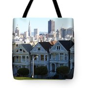 Painted Ladies Tote Bag by Linda Woods