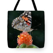 Painted Lady In A Shower Tote Bag
