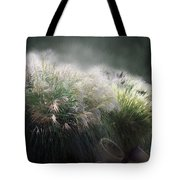 Painted Pampas Tote Bag