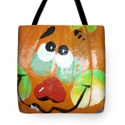 Painted Pumpkin 3 Tote Bag