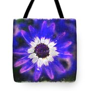 Painted Purple  Tote Bag