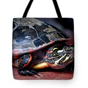 Painted Turtle Michigan Tote Bag