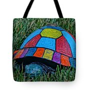 Painted Turtle Sprinkler Tote Bag