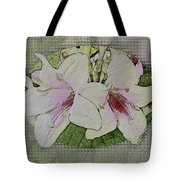 Painted Weigela Window Tote Bag