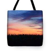 Painterly Skyline Tote Bag