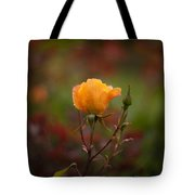 Painterly Yellow Rose Tote Bag
