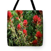 Painting In The Brush Tote Bag