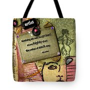 Painting Is Self-discovery Tote Bag