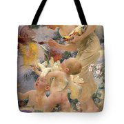 Painting The Birds Tote Bag