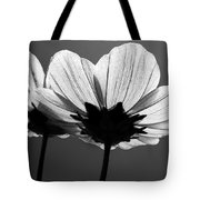 Pair Of Cosmia Flower Tote Bag
