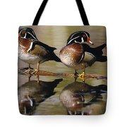 Pair Of Wild Birds Tote Bag