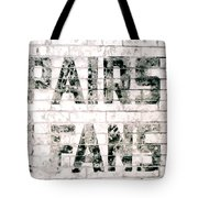 Pairs Fans Tote Bag