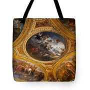 Palace Of Versailles Ceiling Tote Bag