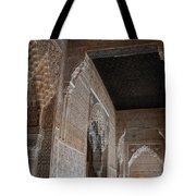 Palace Stonework Tote Bag
