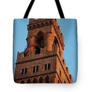 Palazzo Vecchio In Florence  Tote Bag