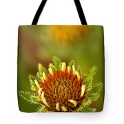 Pale Purple Coneflower Bud Tote Bag