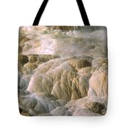 Palette Spring In Mammoth Hot Springs Tote Bag